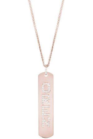 CARBON & HYDE Women Necklaces - Longtag Necklace - Rose Gold