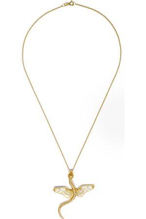 Natia X Lako Women Necklaces - Winged Snake Pendant