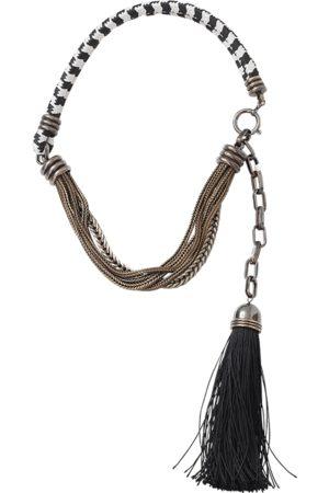 Lanvin Vita Short Tassle Necklace