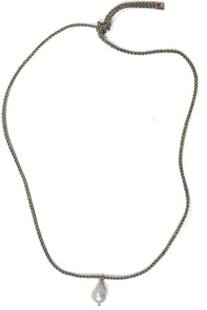 SANDRALEXANDRA Baroque Pearl Necklace