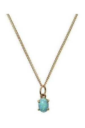 WWAKE Women Necklaces - Limited Edition Small Opal Pendant Necklace