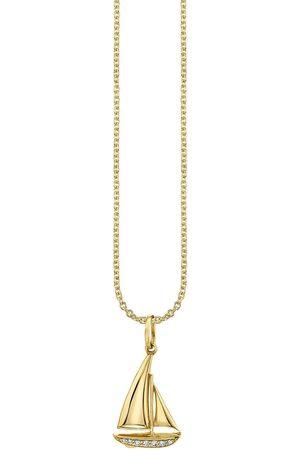 Sydney Evan Women Necklaces - Sailboat Pendant Necklace