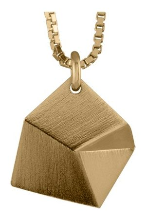 Sofie Lunoe Flake Small Pendant with Short Chain