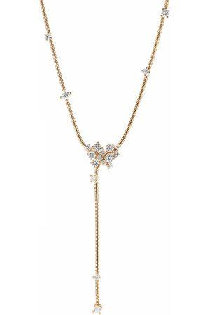 Mattia Cielo Women Necklaces - Diamond Y Drop Necklace