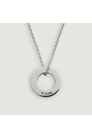 Le Gramme Women Necklaces - Medal Disc 1.1gr Argent lisse brossé
