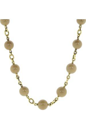 Sylva & Cie Women Necklaces - Sea Bamboo Bead Necklace