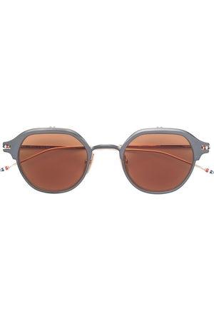 Thom Browne Sunglasses - Iron & white gold sunglasses