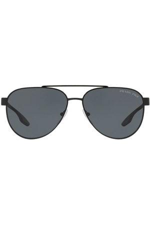Prada Men Sunglasses - Prada Linea Rossa aviator style sunglasses