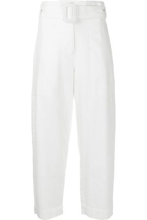 PROENZA SCHOULER WHITE LABEL Women Trousers - Belted cropped trousers