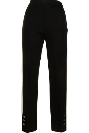 Twin-Set Women Skinny Trousers - Slim-fit track style trousers