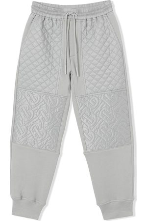 Burberry Monogram quilted panel track pants