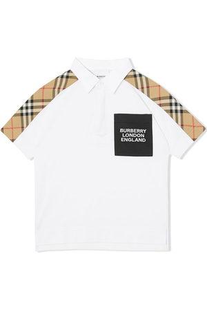 Burberry Vintage check-print polo shirt