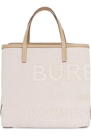 Burberry Mini Horseferry tote bag - Neutrals