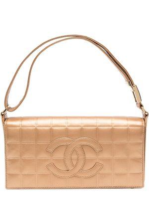 Chanel Pre-Owned Women Shopper & Tote Bags - 2002 Choco Bar CC tote bag