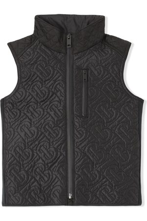 Burberry Boys Body Warmers - Monogram quilted gilet