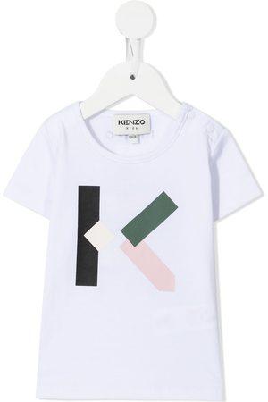 Kenzo Tracksuits - Logo-print cotton tracksuit set