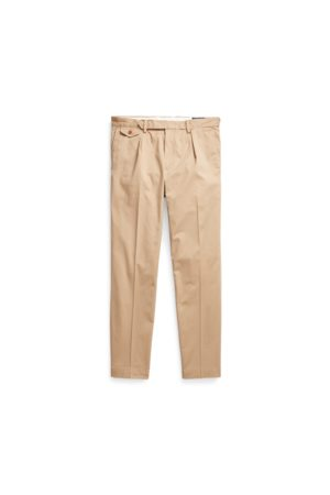 Polo Ralph Lauren Stretch Slim Tapered Fit Pleated Trouser