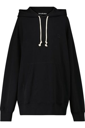 Acne Studios Women Hoodies - Face cotton hoodie