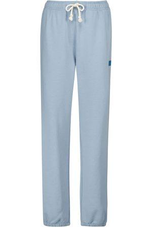 Acne Studios Women Trousers - Face cotton sweatpants