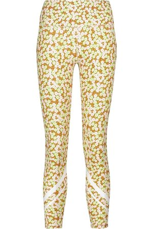 Tory Sport Women Trousers - Floral high-rise leggings