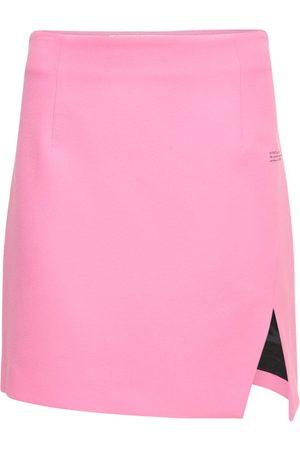 OFF-WHITE Lvr Exclusive Side Split Mini Skirt