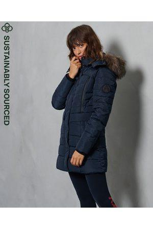 Superdry Women Parkas - Longline Glacier Parka Coat