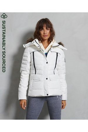 Superdry Women Jackets - Glacier Padded Jacket