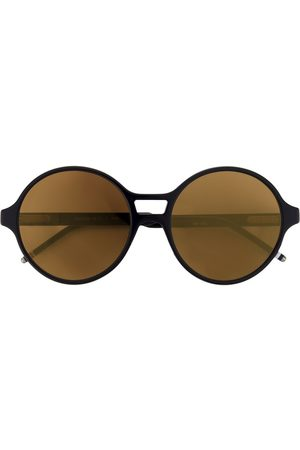 Thom Browne Round Dark Brown Sunglasses