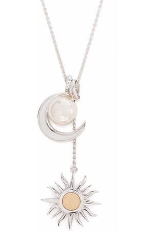 Dinny Hall Women Necklaces - 9kt yellow gold and sterling My World Celestial Edit necklace