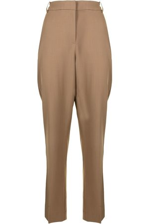VIKTORIA & WOODS Slim-cut tailored trousers