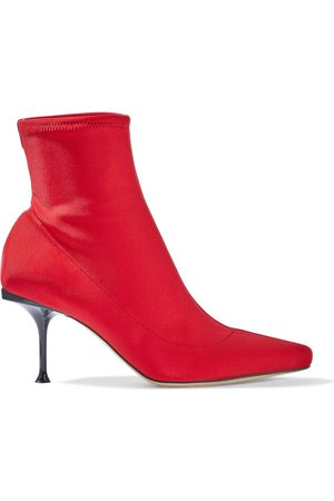 Sergio Rossi Woman Sr Milano 75 Neoprene Sock Boots Size 36