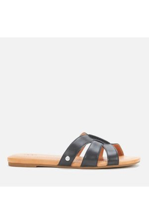 UGG Women's Teague Leather Mule Sandals