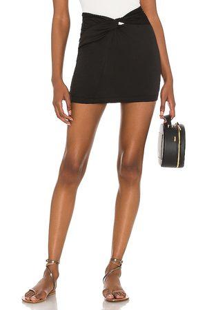 Free People Night Dreamer Twist Mini Skirt in . Size 2, 4, 6, 8, 10, 12.
