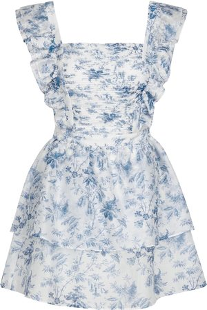 SIR Exclusive to Mytheresa – Clementine cotton and silk minidress
