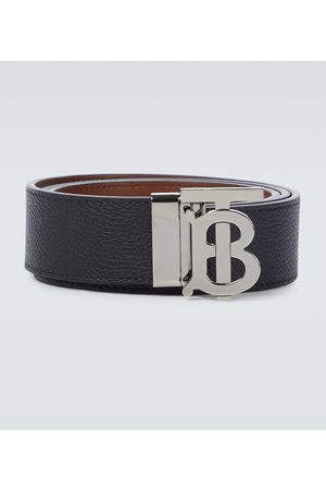 Burberry Reversible TB leather belt