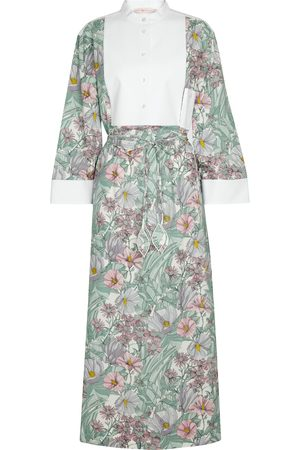 Tory Burch Floral cotton maxi dress