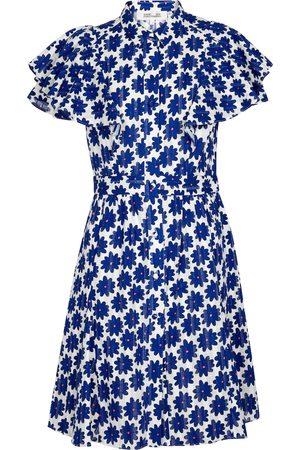 Diane von Furstenberg Alice floral cotton jacquard minidress