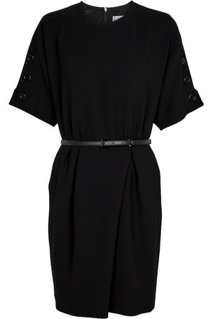 Max Mara Pittura belted wrap minidress