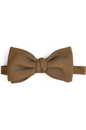 BRIONI Pre-Tied Silk Bow Tie