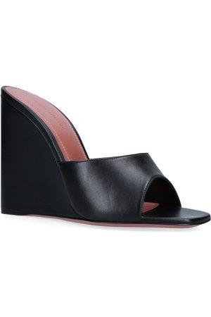 Amina Muaddi Lupita Wedge Sandals 95