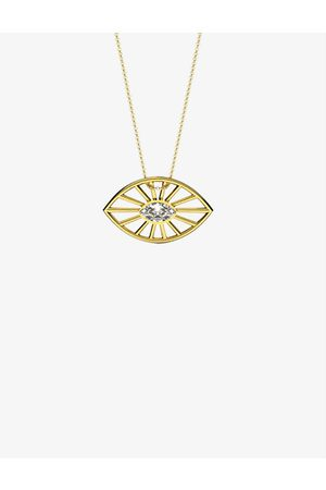 The Alkemistry Women Necklaces - Echo 18ct - and 0.06ct diamond pendant necklace
