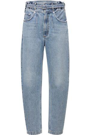 AGOLDE Rive Denim Jeans W/ Belt