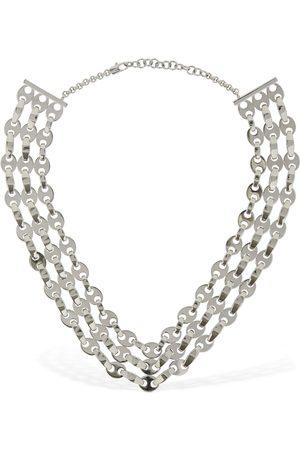 Paco rabanne Women Necklaces - Three Row Eight Nano Necklace
