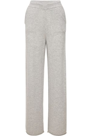 LOULOU STUDIO Tioman Cashmere Knit Flared Pants