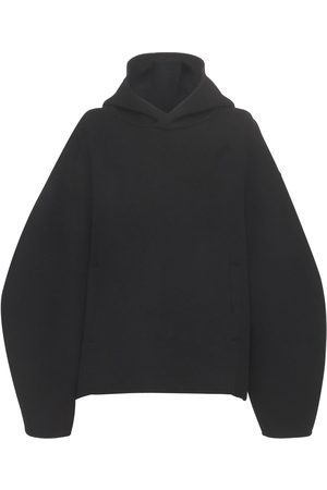 LOULOU STUDIO Pollos Wool Blend Hooded Sweater
