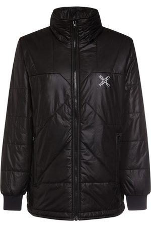 Kenzo Logo Nylon Down Jacket