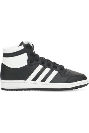 adidas Top Ten J High Leather Sneakers