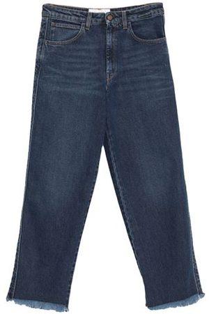 MAURO GRIFONI Women Trousers - DENIM - Denim trousers