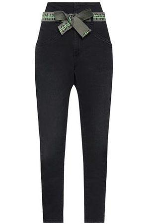 GAËLLE Women Trousers - DENIM - Denim trousers