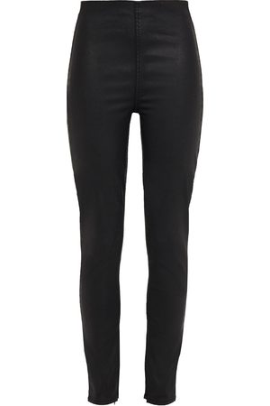 RAG & BONE Women Skinny - Woman Nina Coated Stretch-denim Leggings Size L